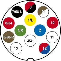 Abs lastebil koblingsskjema kontakt Koblingsskjema 7